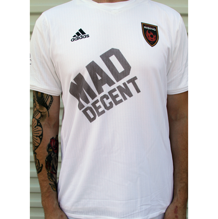Adidas White Jersey-YOUTH
