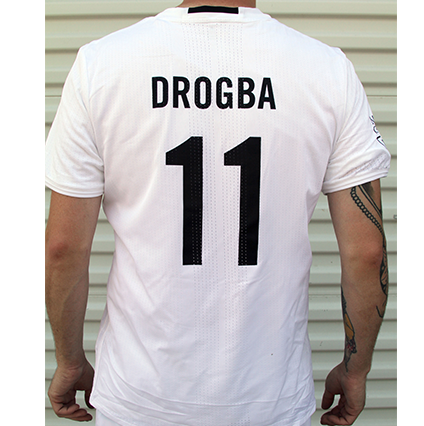 Adidas Player Jersey-Drogba-White