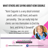 What others are saying about Kemi Sogunle as a coach