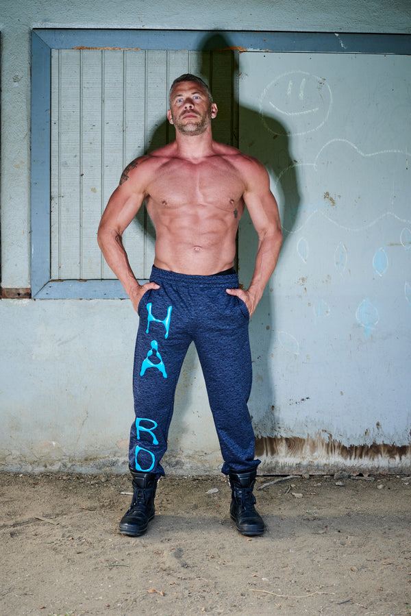 Julian Zigerli Blue Foam H a r d Sweatpants