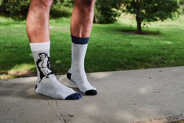 TOM OF FINLAND MULTI GRAY SOCKS BY FINLAYSON