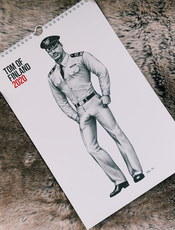 Tom of Finland 2020 Wall Calendar