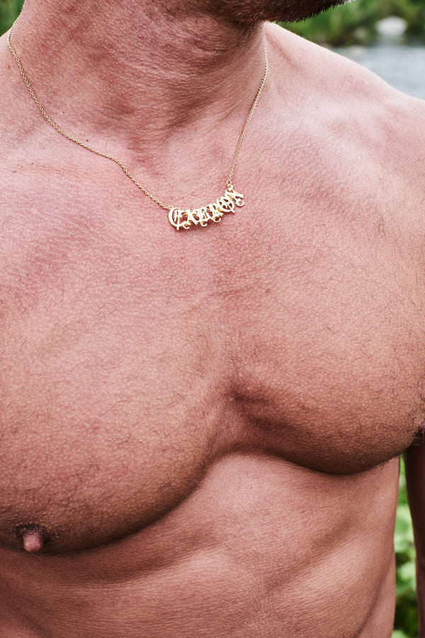 Bruce LaBruce CABRON Necklace by Jonathan Johnson
