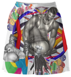 Print All Over Me avaf x Tom of Finland Basketball Shorts product image.