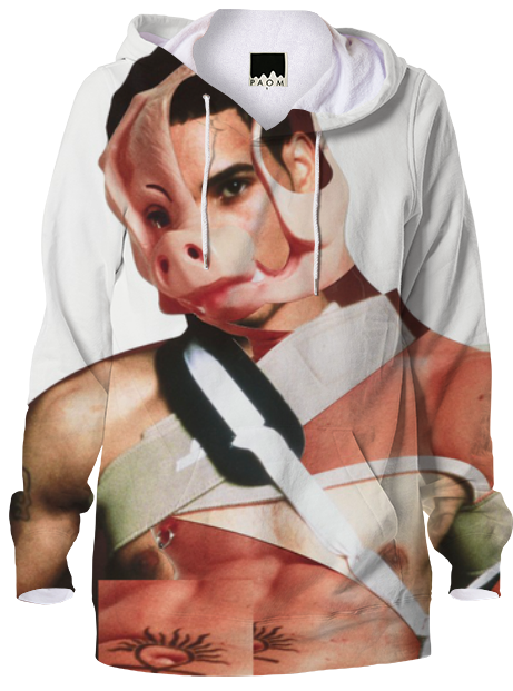 Print All Over Me Bruce LaBruce x Damien Blottiere Hoodie product image