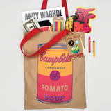 Andy Warhol Campbell Soup Tote Bag
