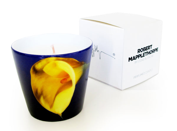ROBERT MAPPLETHORPE YELLOW CALLA LILY PERFUMED PORCELAIN CANDLE