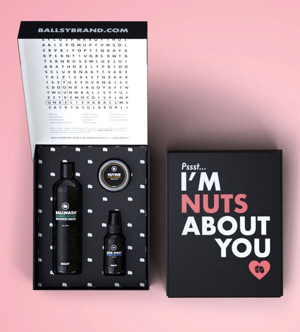 I'm Nuts About You Valentine's Day Sack Pack Gift Set