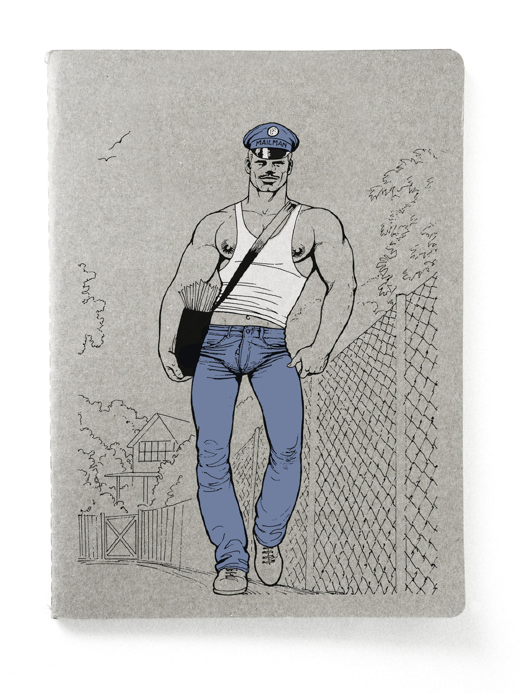 Mailman Sewn-Bound Notebook