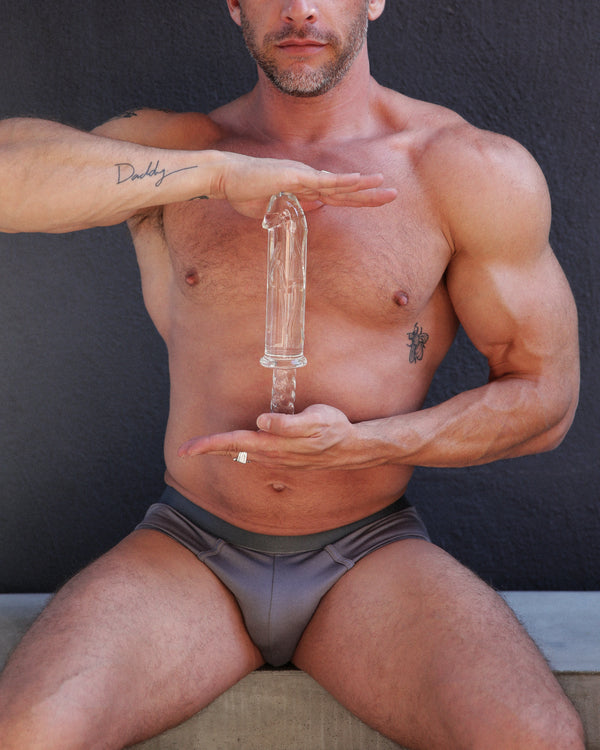 Battle Rammer Phallic Glass Thruster