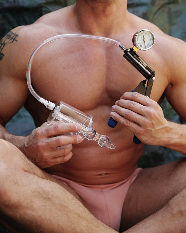 Tom of Finland Anal Rosebud Vacuum With Beaded Rod