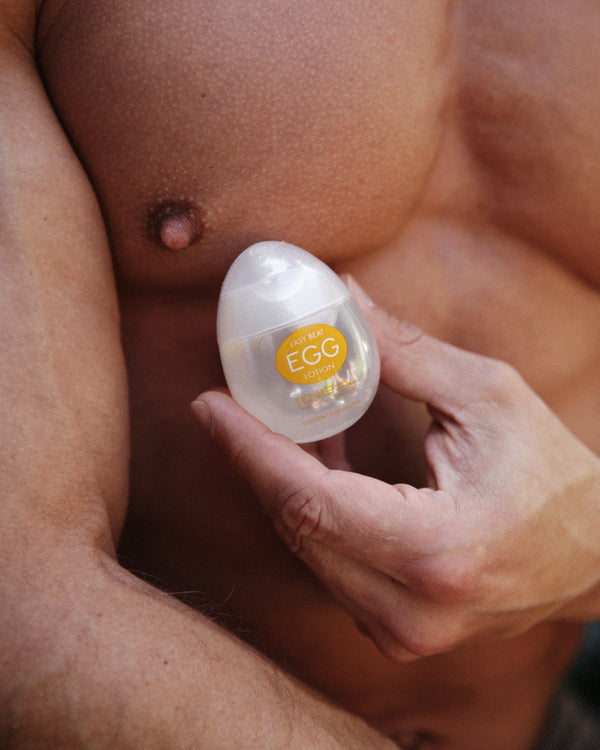 TENGA Easy Beat EGG Lotion Personal Water Based Lubricant