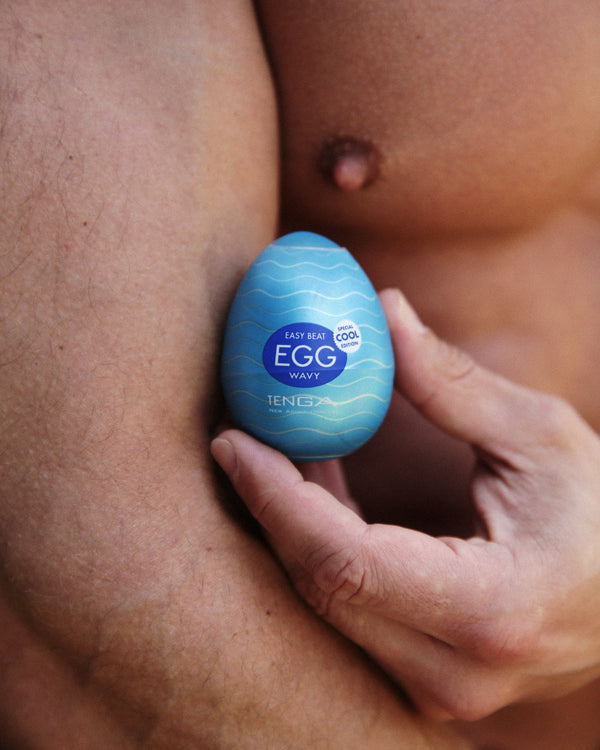 TENGA Easy Beat Egg - Wavy II - Special COOL edition