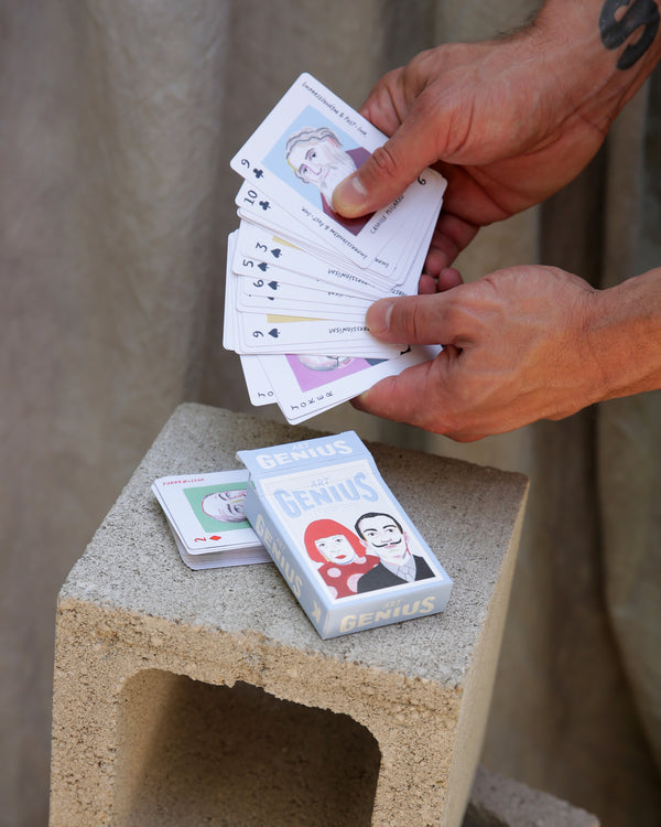 Art Genius Playing Card Set