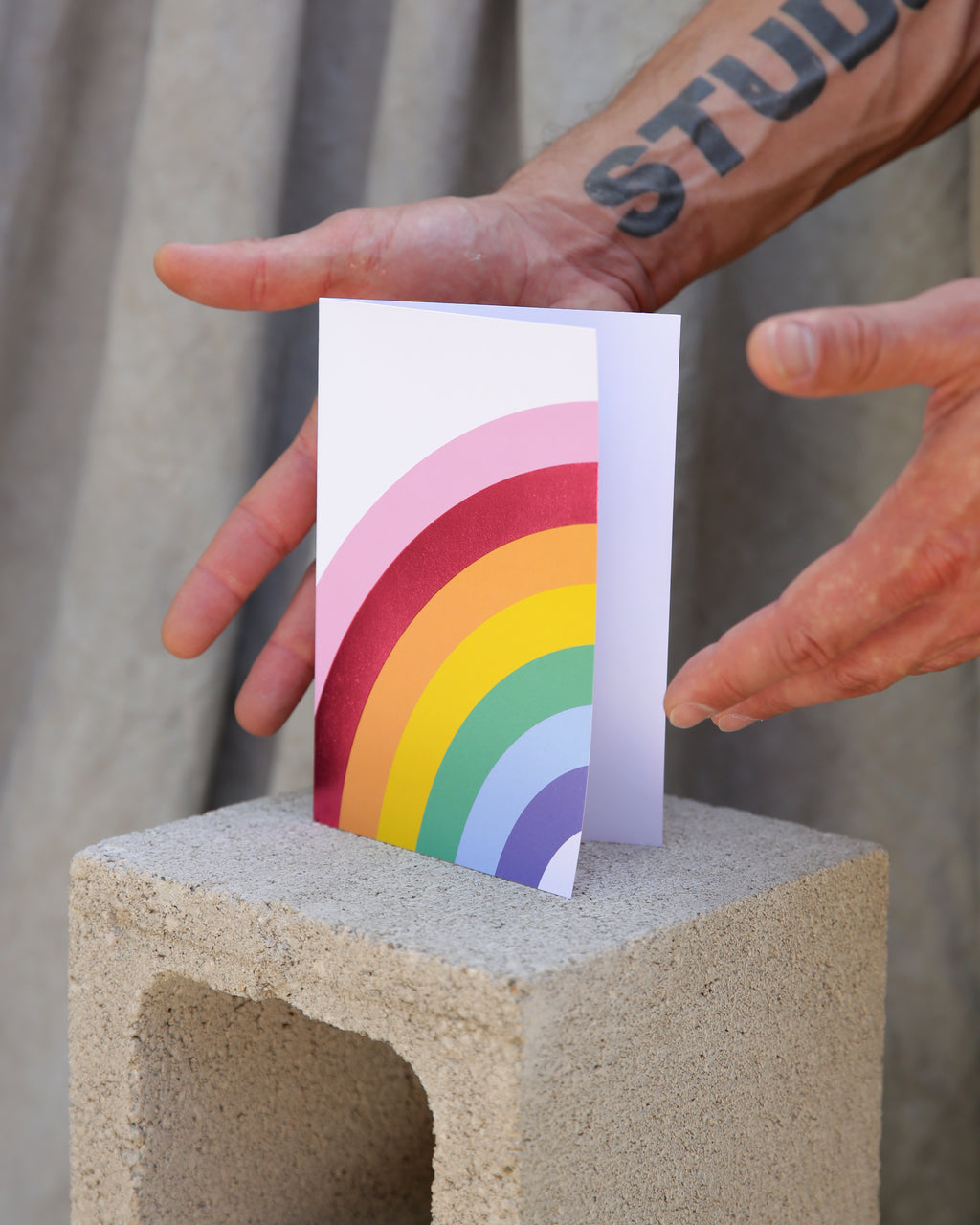 Over the Rainbow Luxe Foil Notecard Set