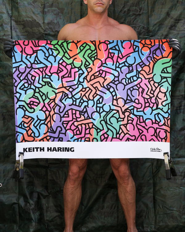 Keith Haring UNTITLED, 1985 (FIGURES) Print
