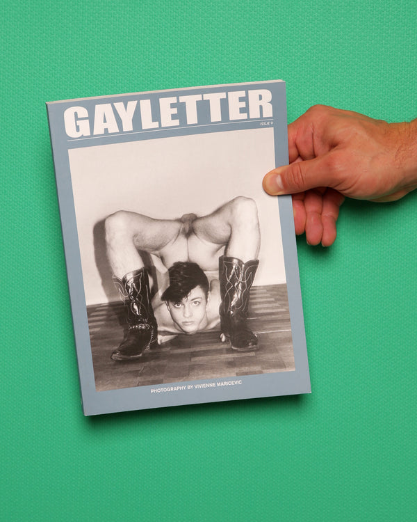 Gayletter Issue 9 - Cover by Vivienne Maricevic