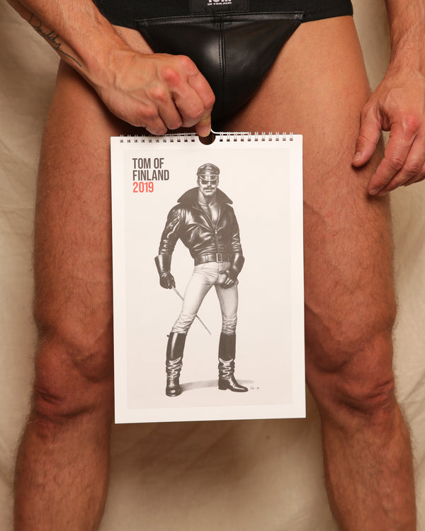 Tom of Finland 2019 Wall Calendar