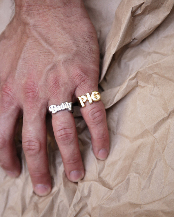 Bruce LaBruce Pig Ring by Jonathan Johnson