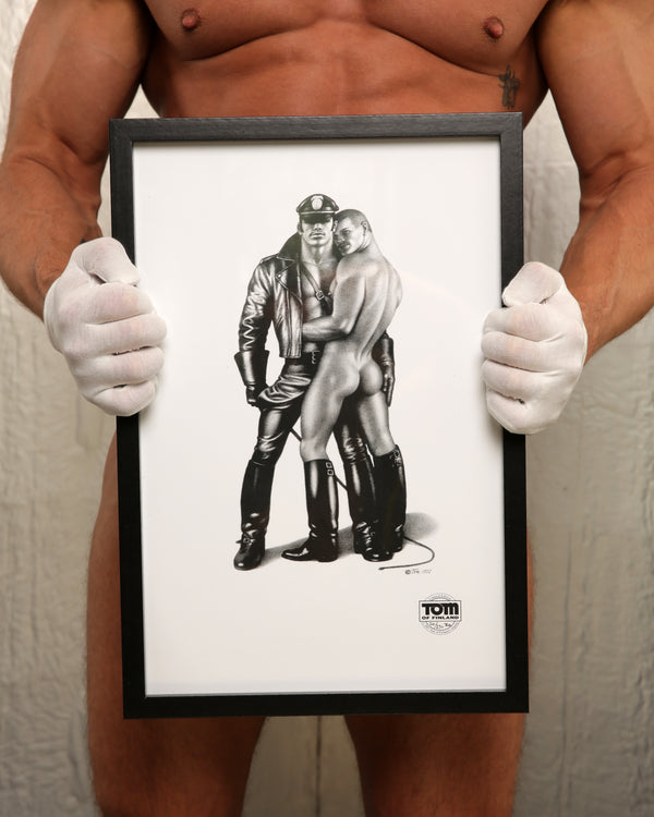 Tom of Finland Whip Boy, 1982