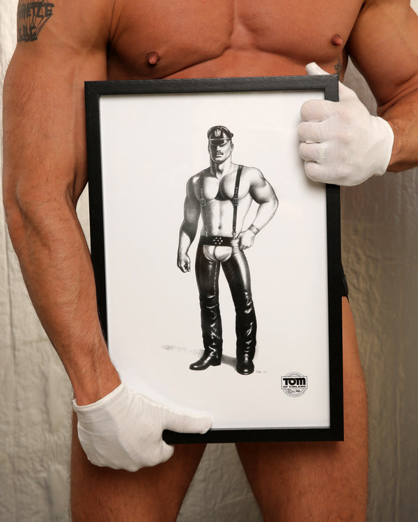 Tom of Finland Man in Chaps, 1987