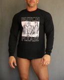 Butch Please Long Sleeve T-Shirt by Lockwood51 x Tom of Finland