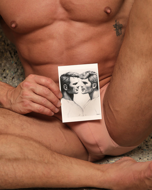Kiss - Tom of Finland Postcard