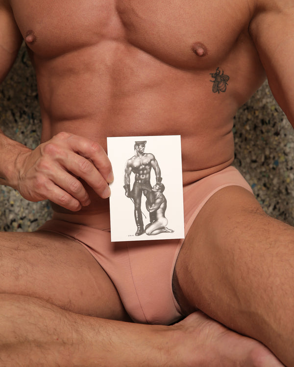 Slave Market - Tom of Finland Postcard