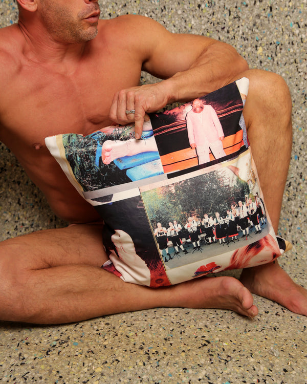 Juergen Teller Pillow for Henzel Studio