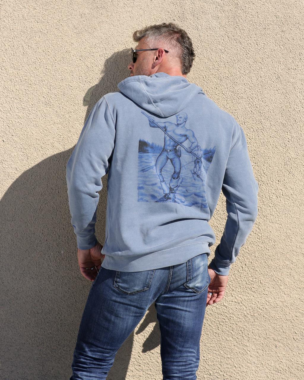 Tom of Finland x Happy Hour Skateboards Hoodie: Just Cruising