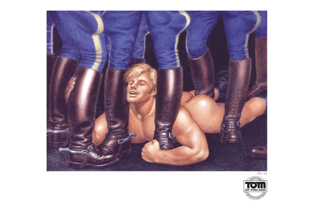 Tom of Finland Mounted Patrol, 1982
