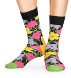 Andy Warhol Flower Socks by Happy Socks