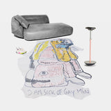 Bjarne Melgaard: Henzel Studio Collaborations Rug #2