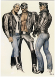 Brotherhood - Tom of Finland Postcard