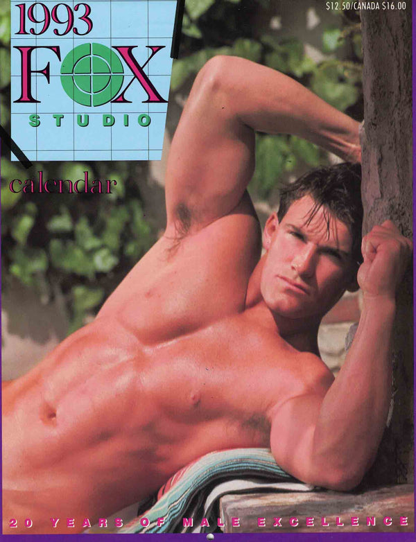 Vintage Fox Studio 1993 Wall Calendar