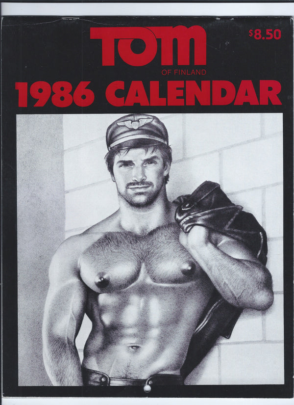 Vintage Tom of Finland 1986 Wall Calendar