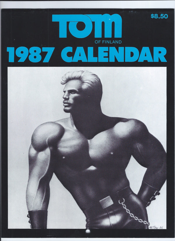 Vintage Tom of Finland 1987 Wall Calendar