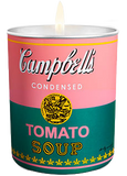 Andy Warhol Pink/Green Campbell Candle