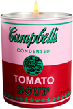 Andy Warhol Pink/Red Campbell Candle