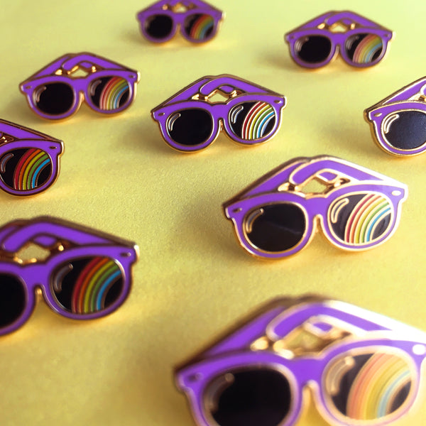 GAYPIN' ENAMEL PIN: COOL FOR THE SUMMER