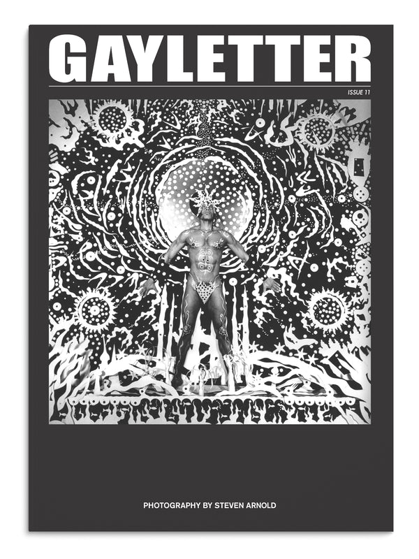 Gayletter Issue 11 - Limited Edition Cover by Steven Arnold