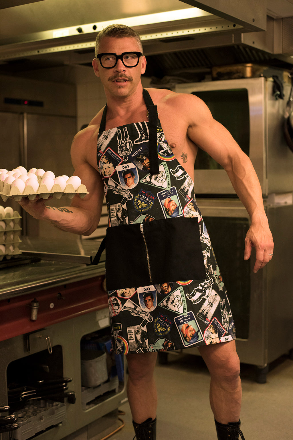 Hook-Up Apron by Finlayson x Tom of Finland