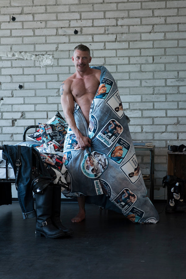 Camp Duvet Cover by Finlayson x Tom of Finland
