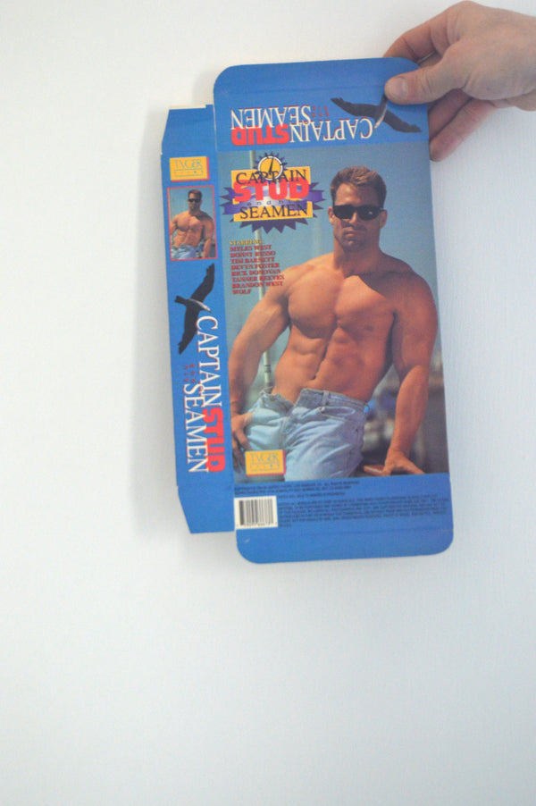 Captain STUD and his SEAMAN VINTAGE VHS COVER
