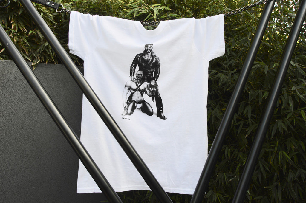 Tom of Finland Leather Studs T-Shirt