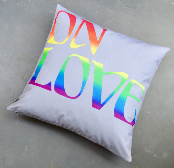 Richard Phillips On Love Pillow for Henzel Studio
