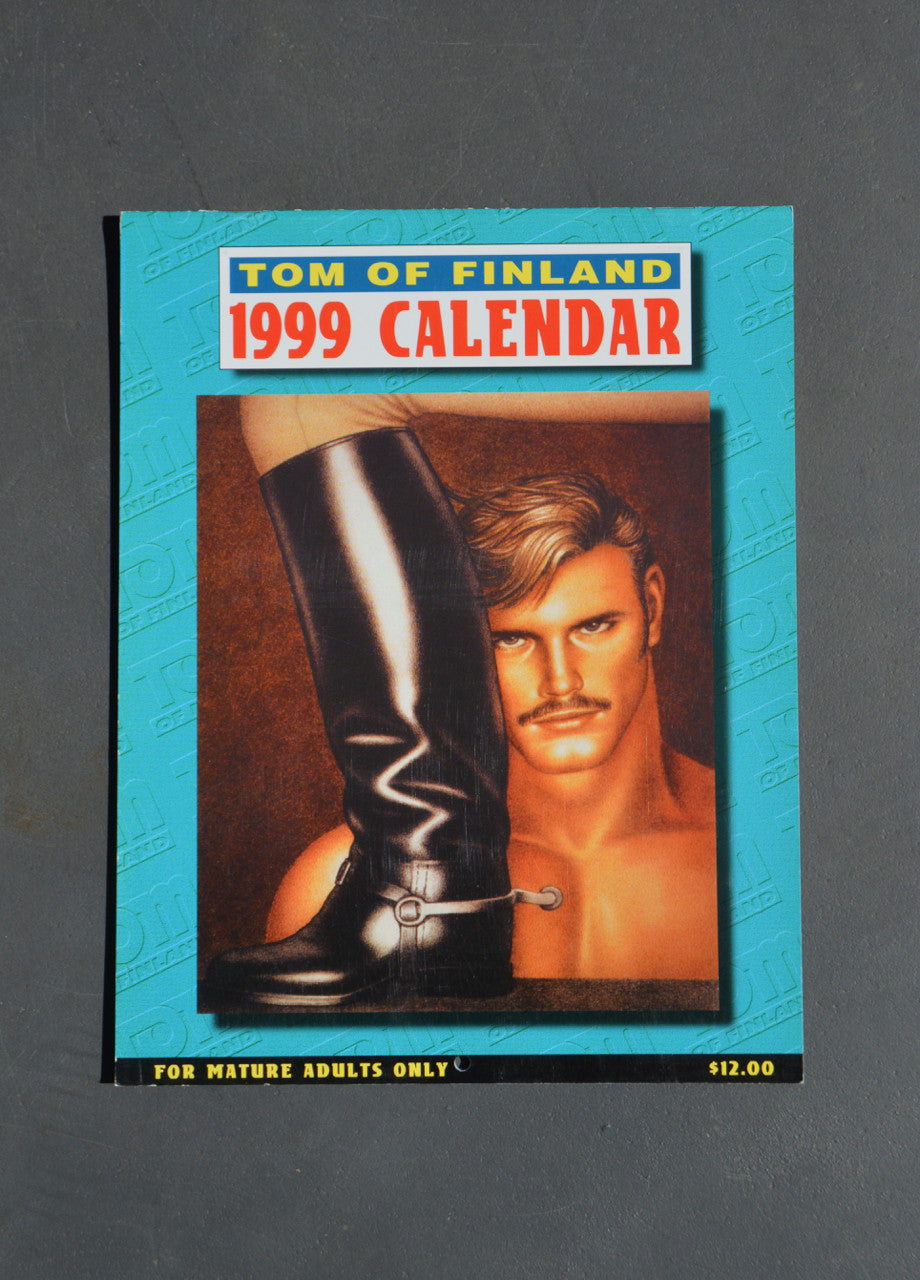 Vintage Tom of Finland 1999 Wall Calendar