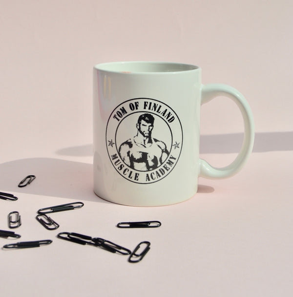 "Tom of Finland ""Muscle Academy"" Ceramic Coffee Mug"