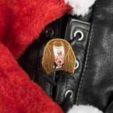 Tom of Finland Santa Enamel Pin by Gaypin'