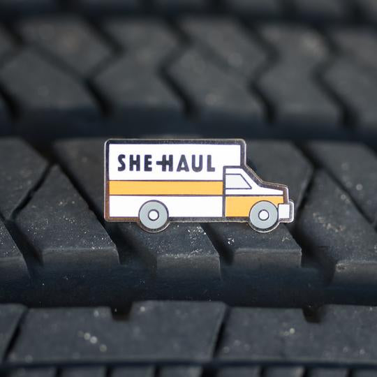 She-Haul Pin by Gaypin'